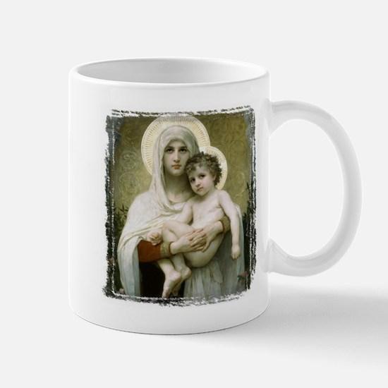 Madonna Of The Roses Mug