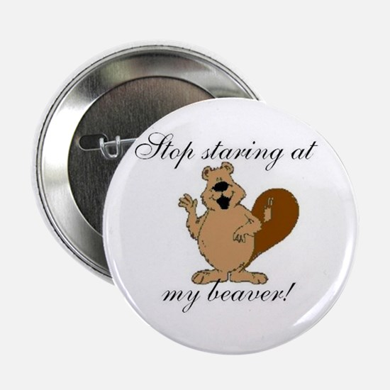 Staring at Beaver Button