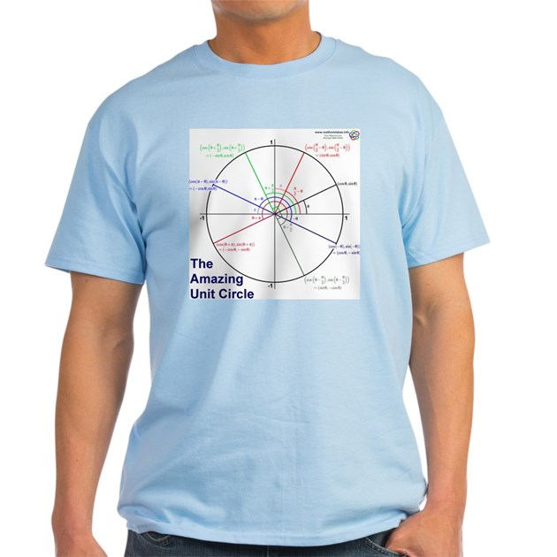 7596bfa1a3b Amazing Unit Circle Light Color Light T-Shirt Amazing Unit Circle Light  Color T-Shirt