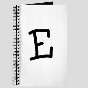 Bookworm Monogram E Journal