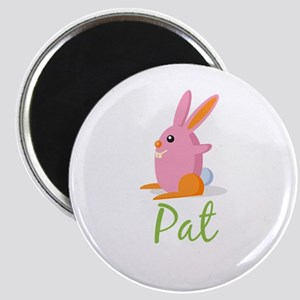 Easter Bunny Pat Magnet