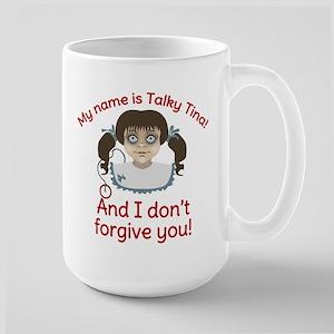 Talky Tina I Dont Forgive You Mug