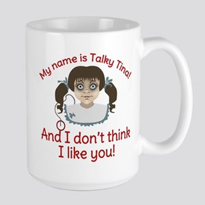 Twilight Zone Talky Tina Mug