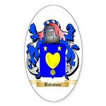 Batistoni Sticker (Oval 50 pk)