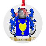 Batistini Round Ornament