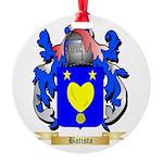 Batista Round Ornament