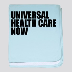 Universal Health Care Now baby blanket