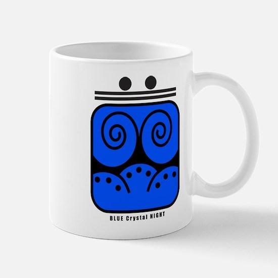 BLUE Crystal NIGHT Mug