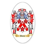 Bates Sticker (Oval 50 pk)