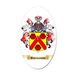 Batemanson Oval Car Magnet