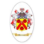 Bateman Sticker (Oval 50 pk)