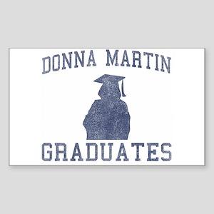 Donna Martin Graduates Sticker