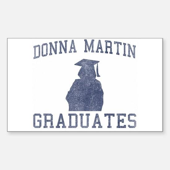 Donna Martin Graduates Decal