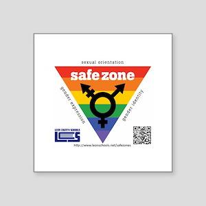 Leon County Schools Safe Zone Sticker