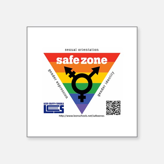 Leon County Schools Safe Zone Sticker