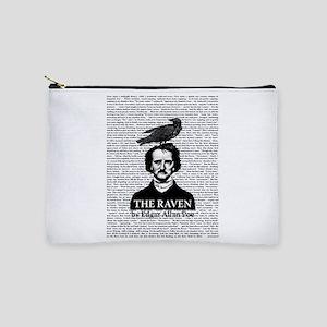 The Raven by Edgar Allan Poe Makeup Pouch