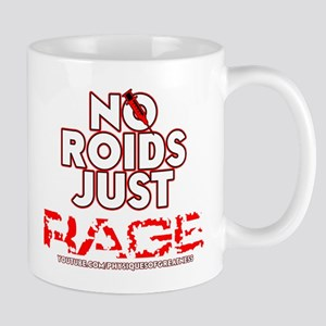 No Roids Just Rage Mug