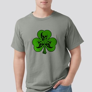 Skully Shamrock Mens Comfort Colors Shirt