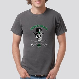 Leprechaun Skull Mens Comfort Colors Shirt