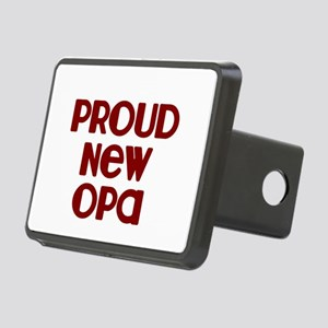 Proud New Opa-marroon Hitch Cover
