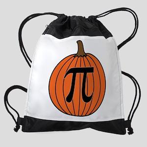 Pumpkin Pi Drawstring Bag
