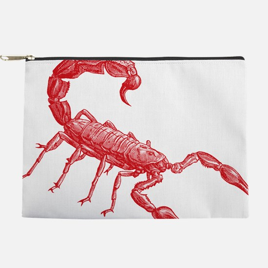 Red Scorpion Makeup Pouch