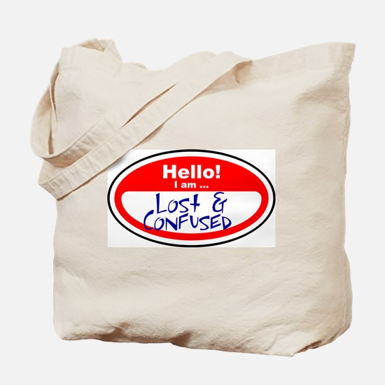 I am lost and confused Tote Bag