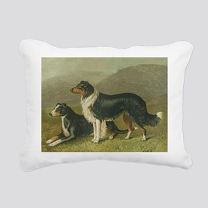 sheepdog Rectangular Canvas Pillow