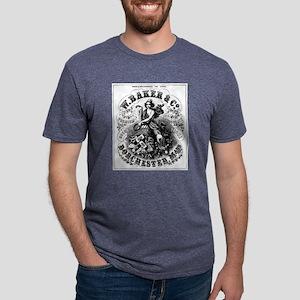 Premium Cocoa Mens Tri-blend T-Shirt