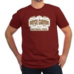 Bryce Canyon Men's Fitted T-Shirt (dark)