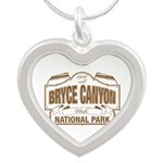 Bryce Canyon Silver Heart Necklace