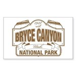 Bryce Canyon Sticker (Rectangle)