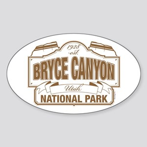 Bryce Canyon Sticker (Oval)