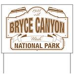 Bryce Canyon Yard Sign