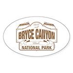 Bryce Canyon Sticker (Oval 50 pk)