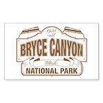 Bryce Canyon Sticker (Rectangle 10 pk)