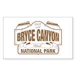 Bryce Canyon Sticker (Rectangle 50 pk)