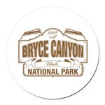 Bryce Canyon Round Car Magnet