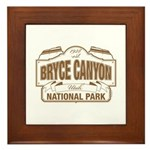 Bryce Canyon Framed Tile