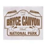 Bryce Canyon Throw Blanket
