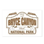 Bryce Canyon Postcards (Package of 8)