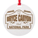 Bryce Canyon Round Ornament