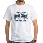 Bryce Canyon Blue Sign White T-Shirt