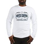 Bryce Canyon Blue Sign Long Sleeve T-Shirt