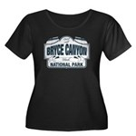 Bryce Canyon Blue Sign Women's Plus Size Scoop Nec