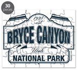 Bryce Canyon Blue Sign Puzzle