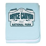 Bryce Canyon Blue Sign baby blanket
