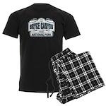 Bryce Canyon Blue Sign Men's Dark Pajamas