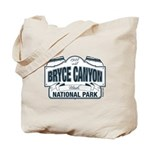 Bryce Canyon Blue Sign Tote Bag