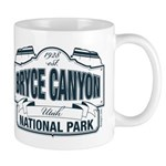 Bryce Canyon Blue Sign Mug
